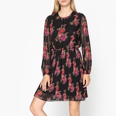 Langärmeliges Plissee-Kleid Langärmeliges Plissee-Kleid LIU JO