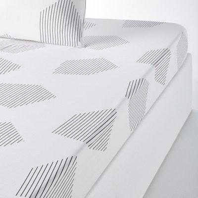 Lençol-capa em percal puro algodão, HEXA La Redoute Interieurs