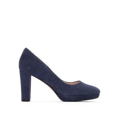 Kendra Sienna Suede Leather Heels CLARKS