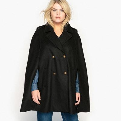 Wool Blend Cape Coat CASTALUNA