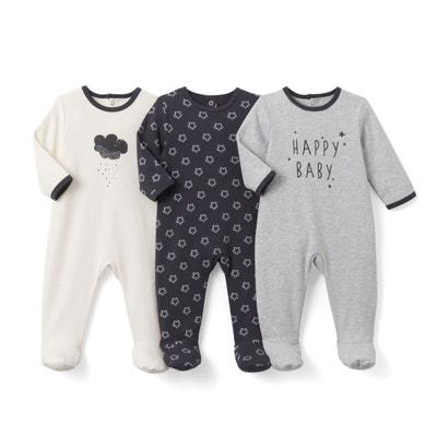 Pyjama coton imprimé(lot de 3) La Redoute Collections