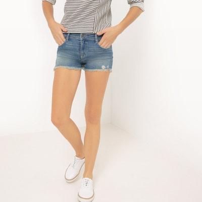Pretty Denim Shorts, Length 9