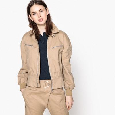 Leichte Jeansjacke mit Reissverschluss, taillierte Form Leichte Jeansjacke mit Reissverschluss, taillierte Form La Redoute Collections