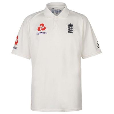 a2292de12820a Maillot de cricket t-shirt manche courte Maillot de cricket t-shirt manche  courte