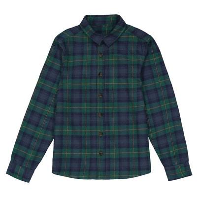Chemise à carreaux 3-12 ans La Redoute Collections