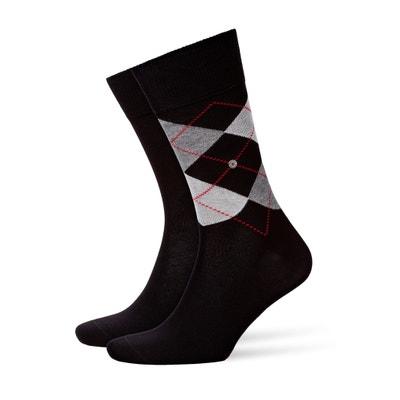 Комплект из 2 пар носков: с рисунком в виде ромбов и однотонные Комплект из 2 пар носков: с рисунком в виде ромбов и однотонные HOTPOINT ARISTON