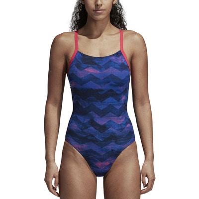 Maillot de bain 1 pièce piscine imprimé adidas Performance