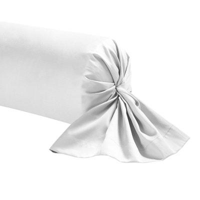 Taie de traversin unie en percale de coton, Royal Line Taie de traversin unie en percale de coton, Royal Line ESSIX