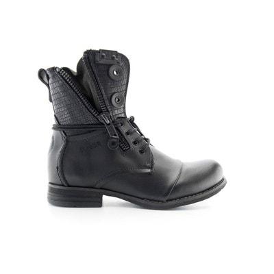 Boots cuir Por BUNKER