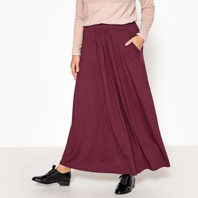 Long Draping Jersey Skirt Long Draping Jersey Skirt CASTALUNA