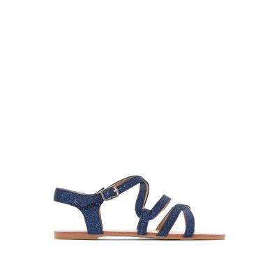 Espadrilles compensées corde - La Redoute Collections - Bleu MarineLa Redoute Collections 6KZss