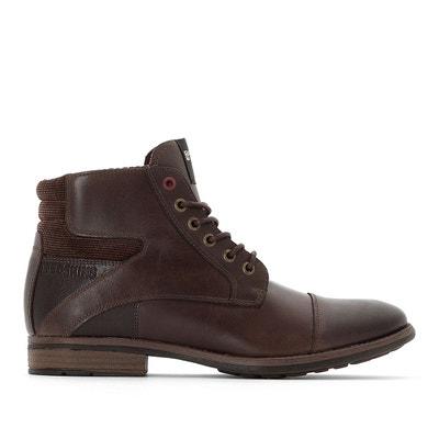 Chaussures homme cuir marron en solde   La Redoute 07368b146c72