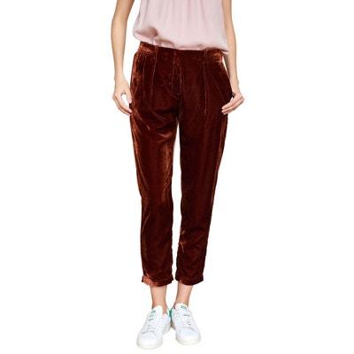Chino La En Femme Pantalon Velours Solde Redoute Bdq4Hzw