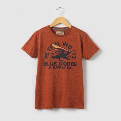 T-shirt de mangas curtas estampada, 8 - 16 anos PETROL INDUSTRIES