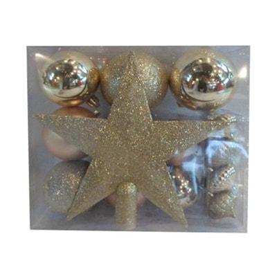Kit de décorations pour sapin de noël - 18 Pièces FEERIE CHRISTMAS