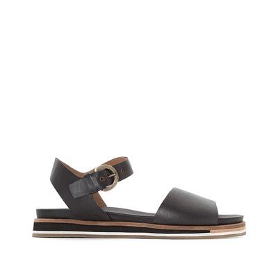 Sandales cuir compensées Splendid - KICKERS - Marron, BronzeKickers