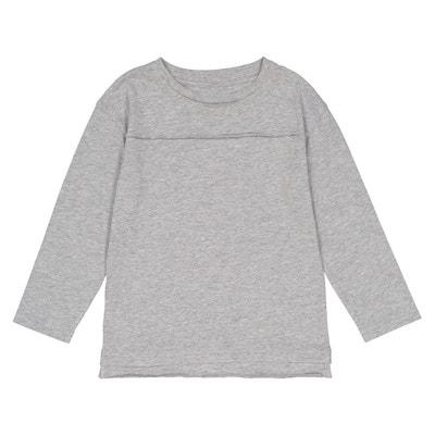 T-shirt maniche lunghe oversize 3 - 12 anni T-shirt maniche lunghe oversize 3 - 12 anni La Redoute Collections