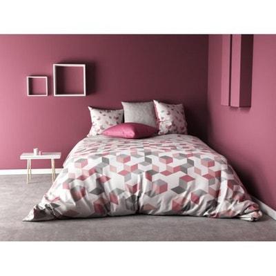 parure drap plat en solde la redoute. Black Bedroom Furniture Sets. Home Design Ideas