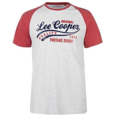 T-shirt col rond manche reglan LEE COOPER