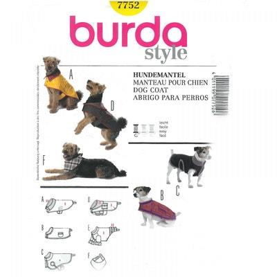 Patron manteau pour chien, Burda 7752 CAREFIL