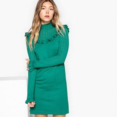 Ruffled Knitted Dress MADEMOISELLE R