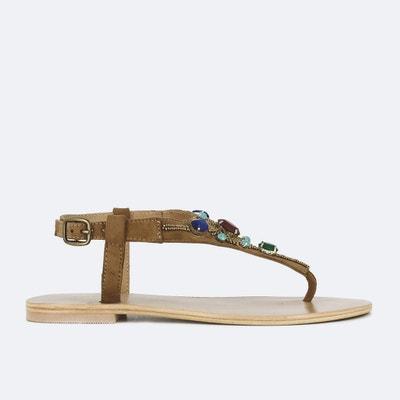 Malea Leather Sandals JONAK
