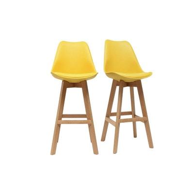 tabouret jaune en solde la redoute. Black Bedroom Furniture Sets. Home Design Ideas