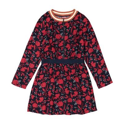 Sukienka z długim rękawem i nadrukiem 3-12 lat Sukienka z długim rękawem i nadrukiem 3-12 lat La Redoute Collections