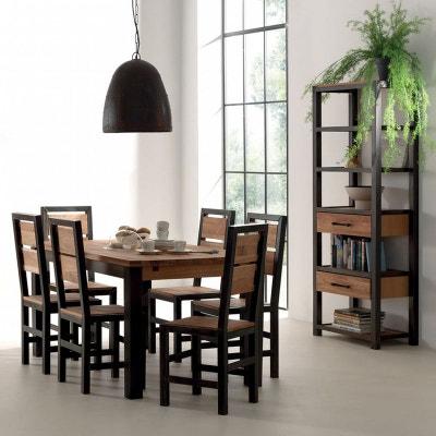 Table A Manger Fer Et Bois La Redoute