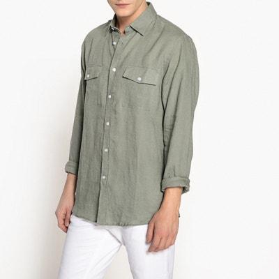 Koszula typu slim z lnu La Redoute Collections