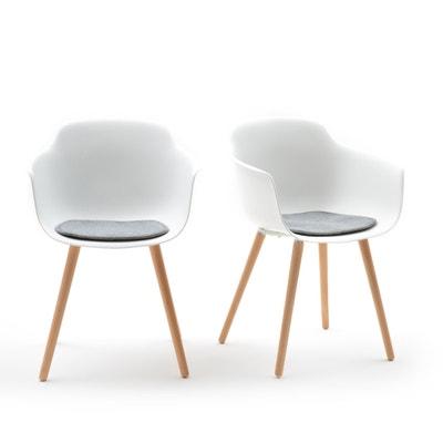 Confezione da 2 poltrone da tavolo, WAPONG Confezione da 2 poltrone da tavolo, WAPONG La Redoute Interieurs