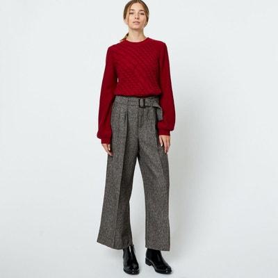 Pantalon large, loose femme en solde   La Redoute c6c99c5b0c7f