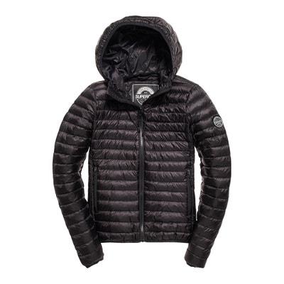 Short Hooded Padded Winter Jacket Short Hooded Padded Winter Jacket SUPERDRY