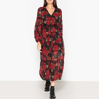Ausgestelltes Kleid mit Blumenmuster Ausgestelltes Kleid mit Blumenmuster THE KOOPLES
