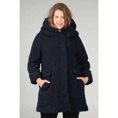 Manteau en laine avec capuche Manteau en laine avec capuche PAPRIKA