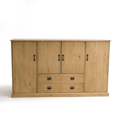 armoire marron en solde la redoute. Black Bedroom Furniture Sets. Home Design Ideas