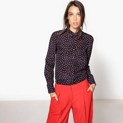Polka Dot Silk Shirt La Redoute Collections