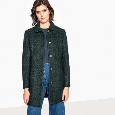 5100854617a08 Manteau cintré en laine mélangée Manteau cintré en laine mélangée LA REDOUTE  COLLECTIONS. Soldes