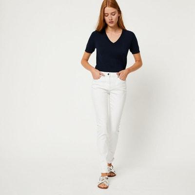 Jean slim blanc Jean slim blanc MONOPRIX. Soldes 7b954246362b