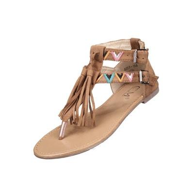 Sandales à franges Sandales à franges LEADER MODE