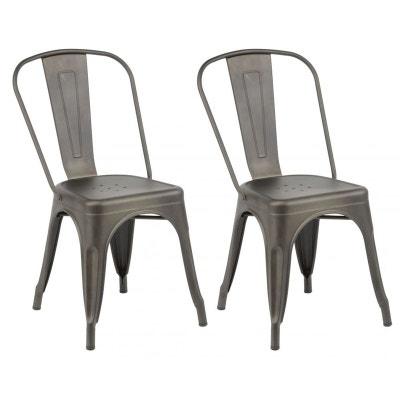 chaise bistrot en solde la redoute. Black Bedroom Furniture Sets. Home Design Ideas