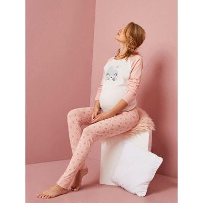 Pyjama d'allaitement motif chat Pyjama d'allaitement motif chat VERTBAUDET