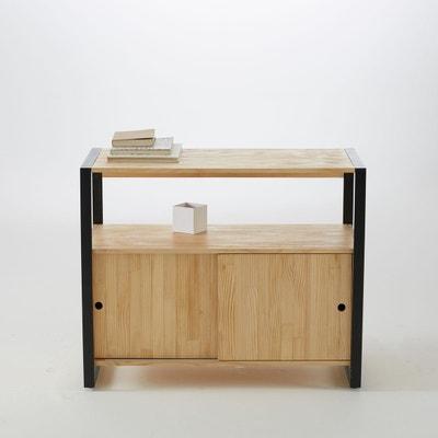 meuble bas de salle de bains pin massifmtal hib meuble bas de salle - Salle De Bain Image