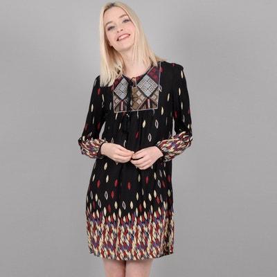 Kurzes Kleid mit Ethno-Print, A-Linie Kurzes Kleid mit Ethno-Print, A-Linie MOLLY BRACKEN