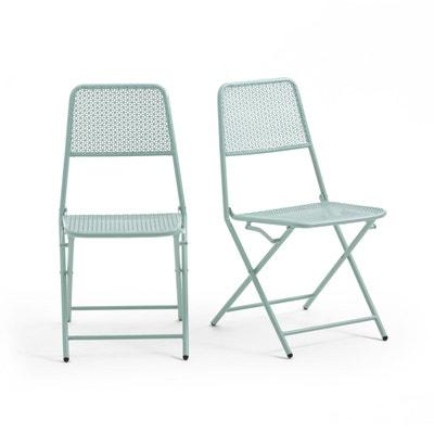 Chaise de jardin OSLO (lot de 2) Chaise de jardin OSLO (lot de 2) LA REDOUTE INTERIEURS
