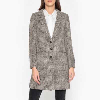 Lange jas in tweed Lange jas in tweed IKKS