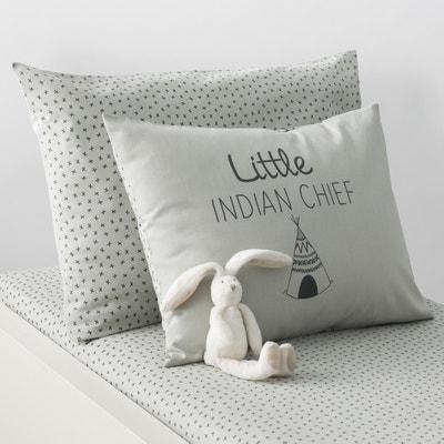 Taie d'oreiller bébé coton TIPI Taie d'oreiller bébé coton TIPI La Redoute Interieurs