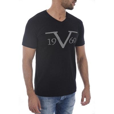 T-Shirt Homme coton Salerne avec pochette cadeau T-Shirt Homme coton  Salerne avec. VERSACE 19.69 479714fcd32