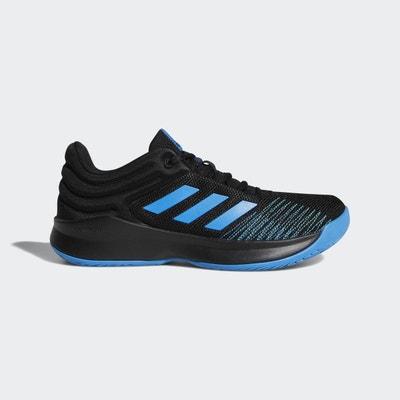 adidas Performance Chaussure Pro Spark Low 2018 Noir / Bleu / Noir - Chaussures Baskets basses Homme