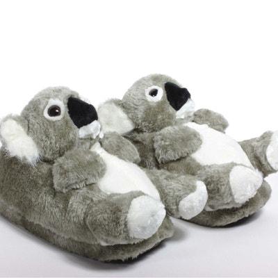 041b8c471d36b2 Chaussons animaux peluche Koala SLEEPERZ